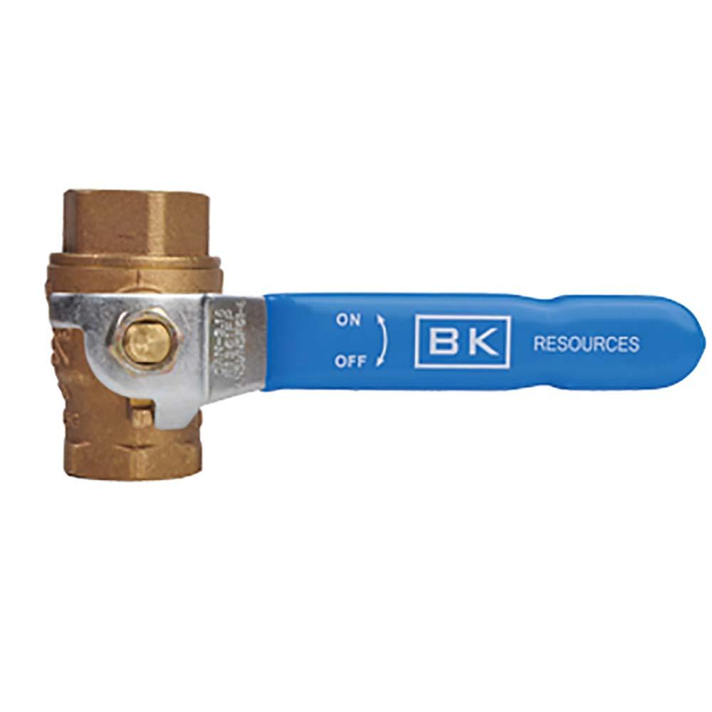 BK Resources BKG-BV50 - Gas Shut-Off Ball-Valve, 1/2\