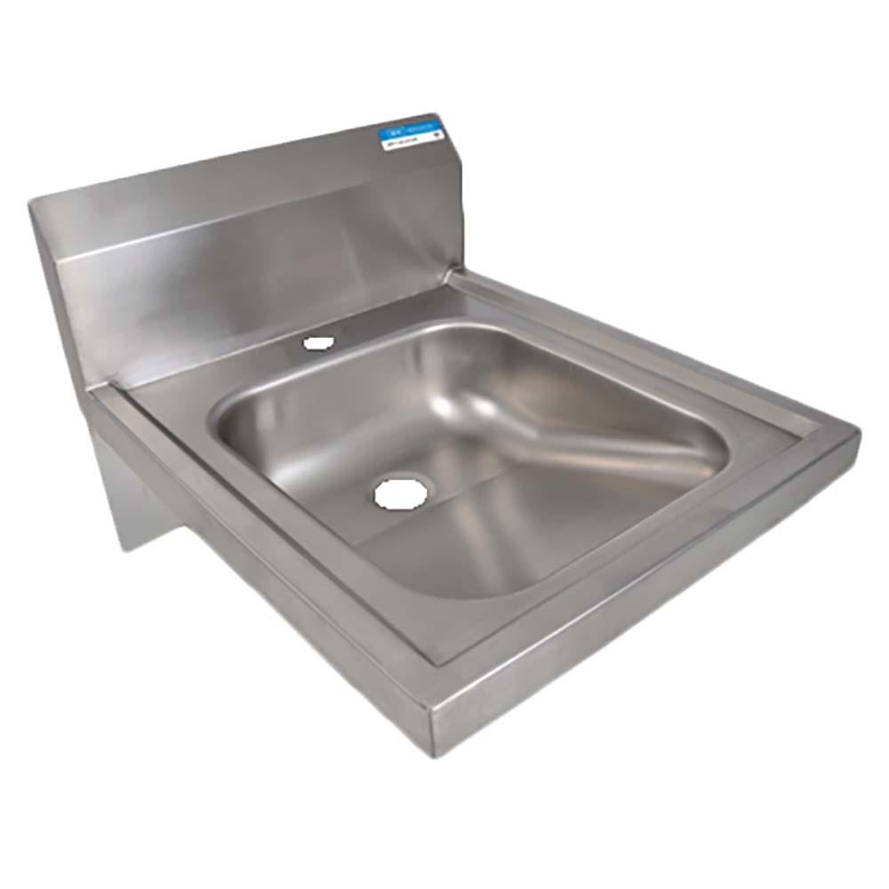 Bk Resources Bkhs Ada D 1 Wall Mount Hand Sink Deck Mount Faucet