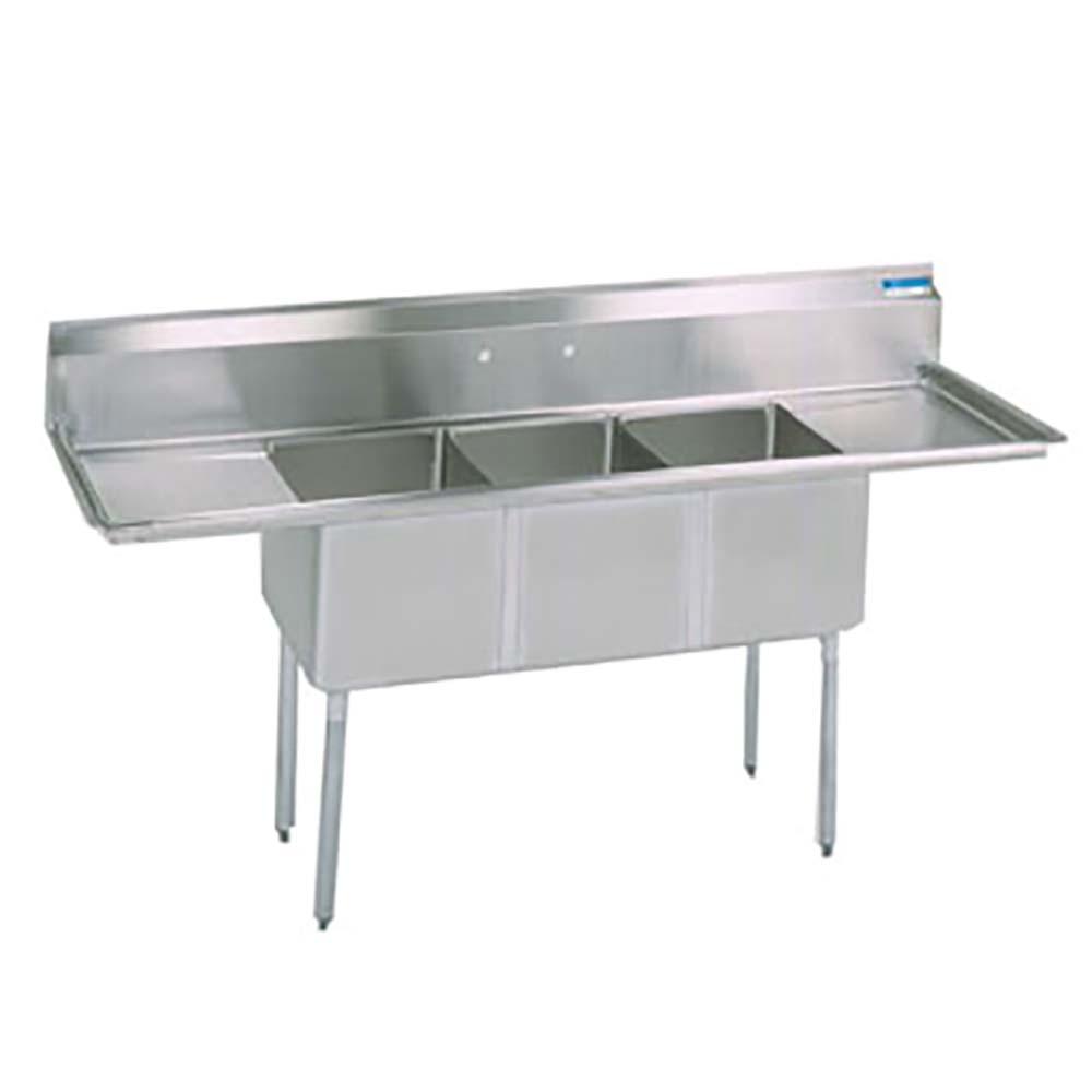 BK Resources BKS 3 18 12 18T   Sink W/Left