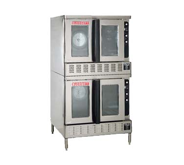Blodgett DFG-200 DBL - Convection Oven, Gas, Double-deck on