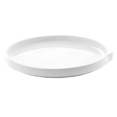 Bon Chef 1400005P - Stacked Lines Dinner Plate 9-17/20 x 10 in. porcelain ...  sc 1 st  JES Restaurant Equipment & Bon Chef 1400005P - Stacked Lines Dinner Plate 9-17/20 x 10 in ...