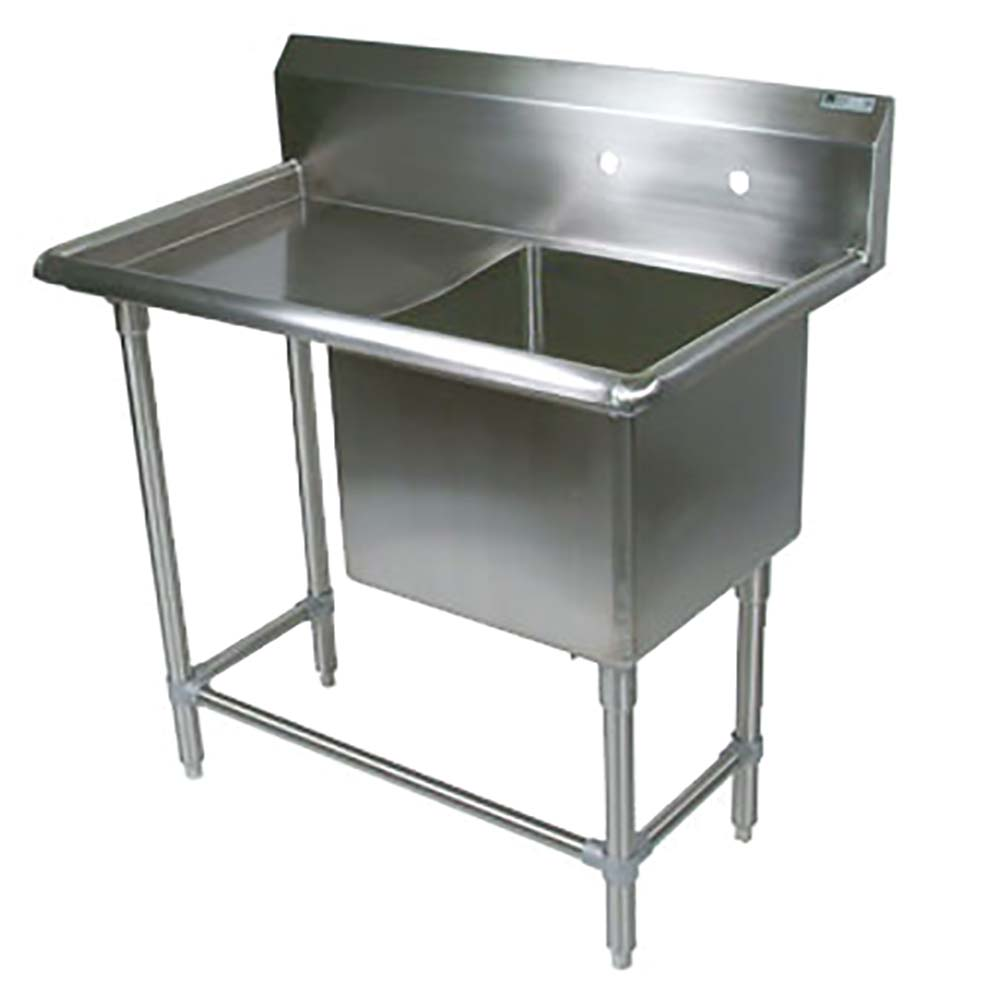 Groovy John Boos 1Pb3024 1D30L One Compartment Sink 64 X 29 1 2 Inch 1 Drainboard Interior Design Ideas Inamawefileorg