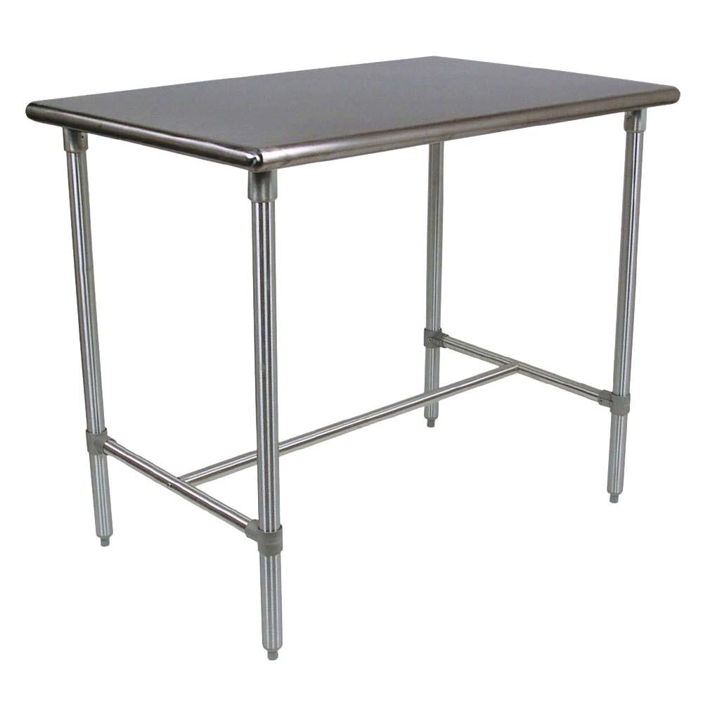 John Boos BBSS4830 40   Cucina Classico Table, 30 X 48 X 40 Inch