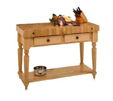 CUCR04-SHF John Boos - Cucina Rustica Work Table, 30\