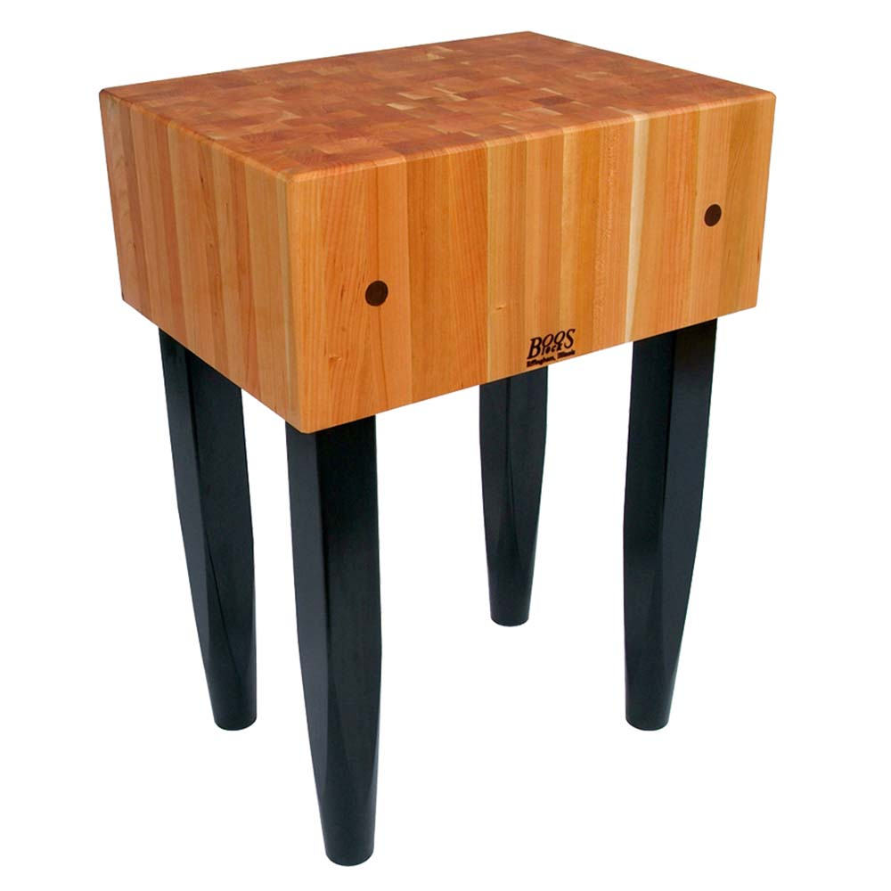 John Boos RN LB2424   Rouge Et Noir Butcher Block, 10 Inch Cherry Top