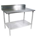 John Boos ST4R5-2424SSK - Stainless steel work table