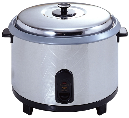Boswell S160 - Commercial Grade Rice Cooker, 23 Cup Capacity