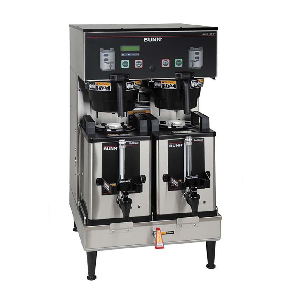 Bunn 33500.0046 - DUAL SH DBC Coffee Brewer, low profile, holds (2)