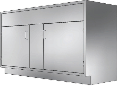 Stainless Cabinets Base Units