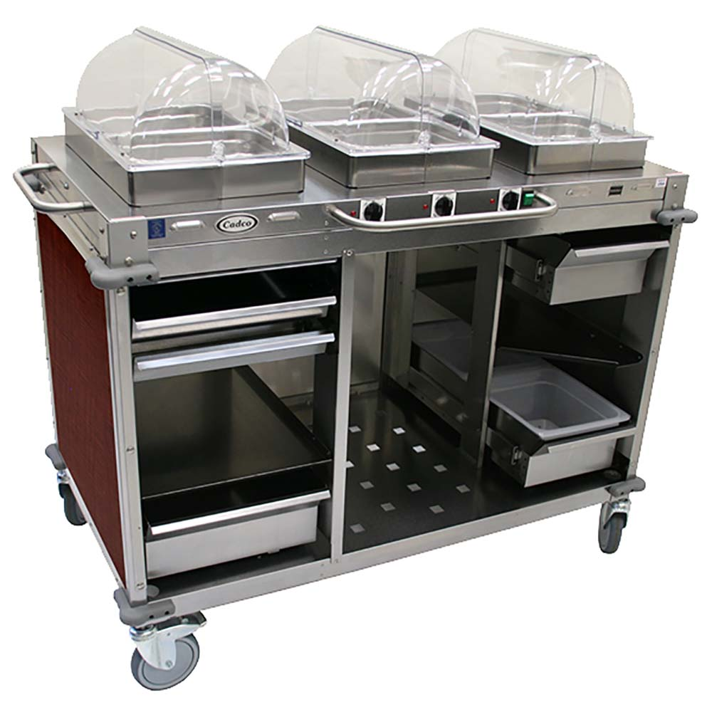 Cadco CBC-HHH-L5 - Steam Table Serving Counter