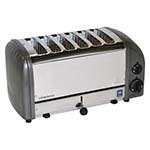 Cadco CTW-6M(220) - Manual 6 Slice Pop-Up Toaster