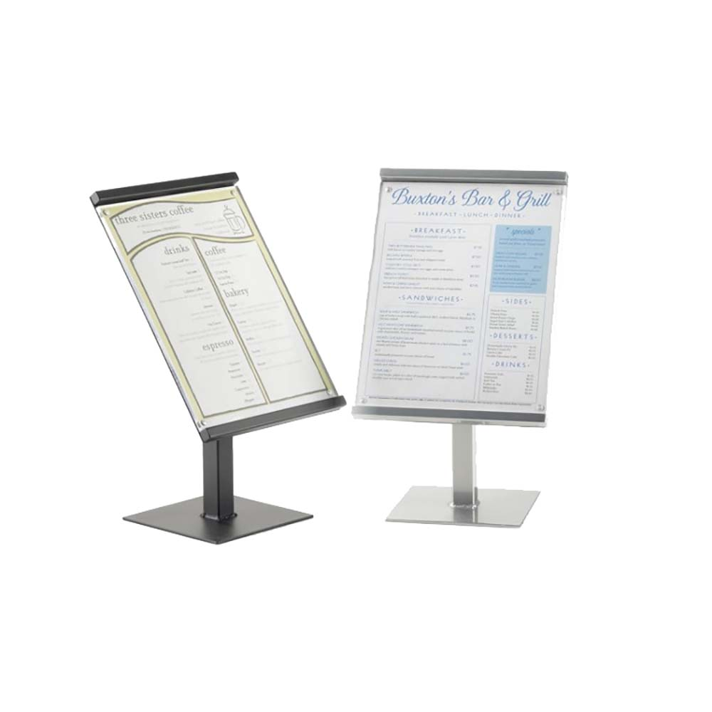 Cal-Mil 1153-46-13 - Sign Stand, freestanding, 46\