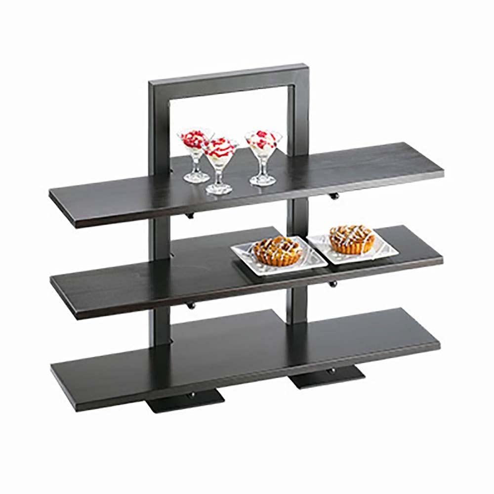 Cal-Mil 1464-13 - One Piece Black Frame Riser, 18-1/4 x 11 x 25