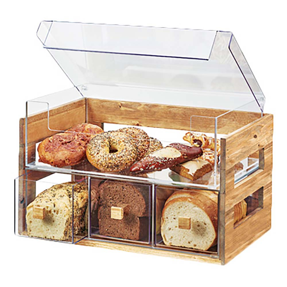 "Cal-Mil 3624-99 - Bread Display Case, 13-1/10"" H"