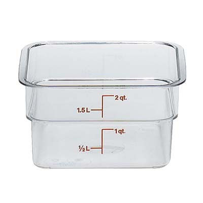 2SFSCW135 Cambro CamSquare Food Container