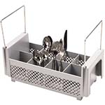 Cambro 8FB434151 - Flatware Washing Basket, Half Size