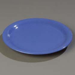Carlisle 4300414 - Dinner Plate 9 inch dia. narrow rim Durus & 4300414 Carlisle - Dinner Plate 9