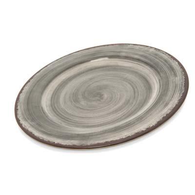 Carlisle 5400118 - Mingle Dinner Plate 11 inch dia. melamine smoke gray  sc 1 st  JES Restaurant Equipment & 5400118 Carlisle - Mingle Dinner Plate 11\