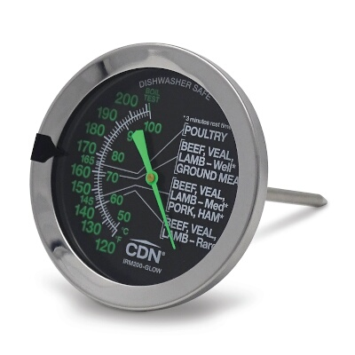 IRM200-Glow CDN ProAccurate® Meat//Poultry Ovenproof Thermometer