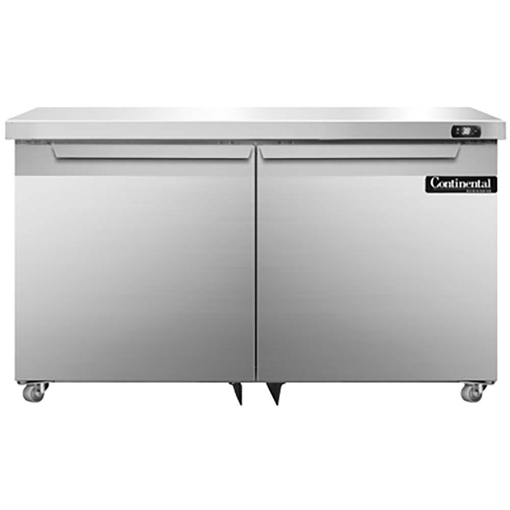 Continental DLUC48-SS - Designer Line Undercounter Refrigerator 48 inch wide two-