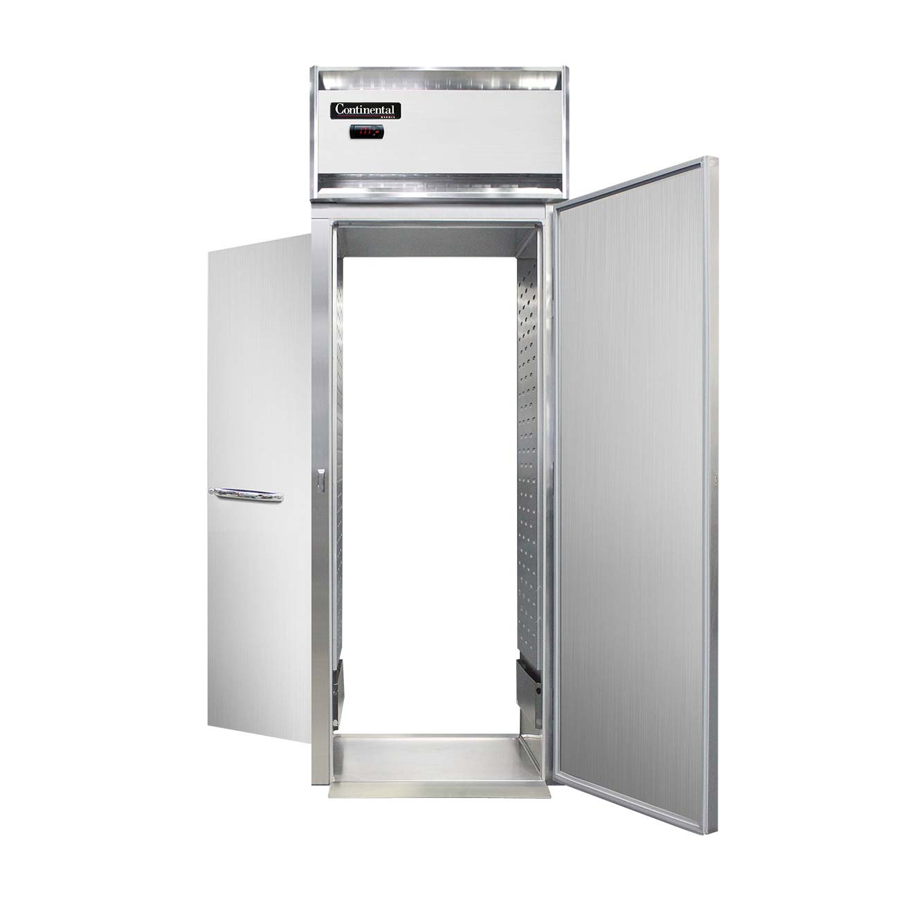 Continental Refrigerator Dl1wi Rt E Roll Thru Heated Cabinet 1 Section