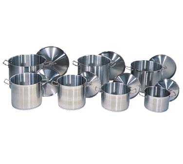 Update International Sps 100 Qt Induction Ready Stainless Steel Stock Pot With Cover