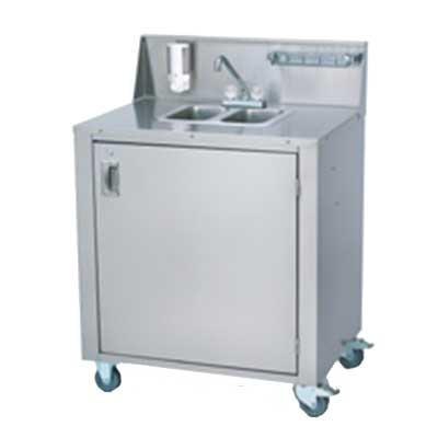 Crown Verity Cv Phs 2 2 Compartment Portable Hand Sink W