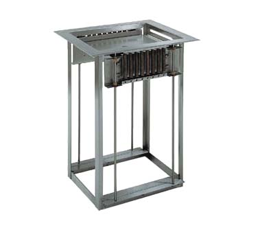 Delfield LT-1826 - Tray Dispenser, open frame drop-in
