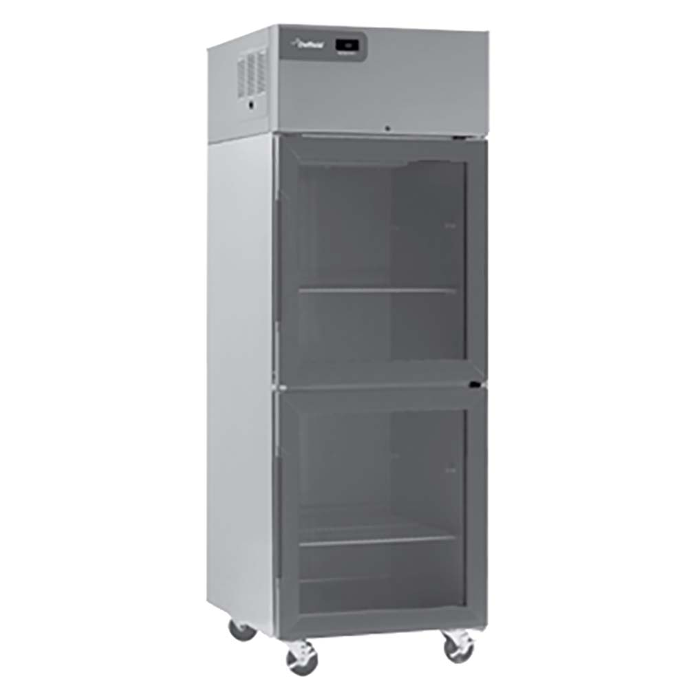 delfield csr3p g reach in refrigerator 3 section 710 cuft glass doors - Refridgerator Glass Door
