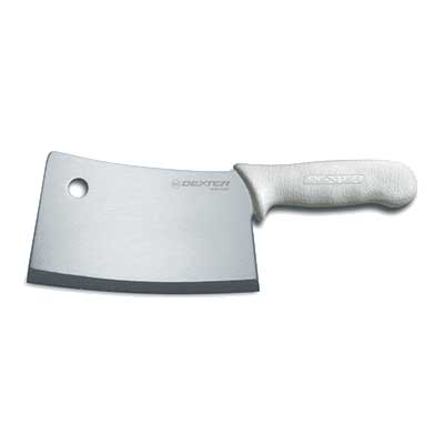 images of kitchen knives s5387pcp sani safe cleaver 7 in 08253 18779