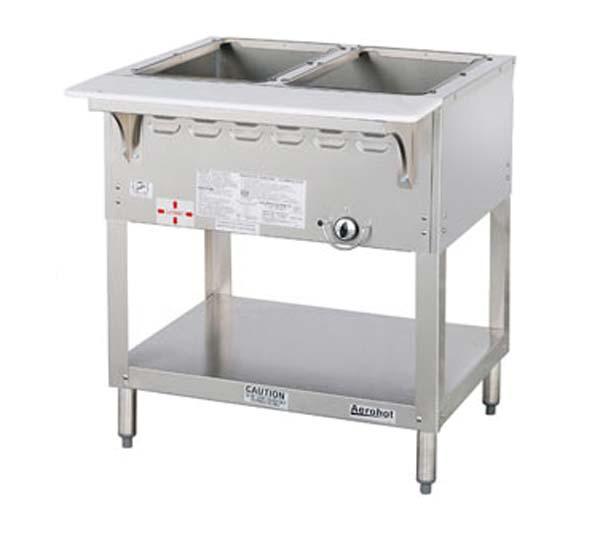 Duke Mfg Wb302 Aerohot Steamtable Wet Bath Unit 2 Wells