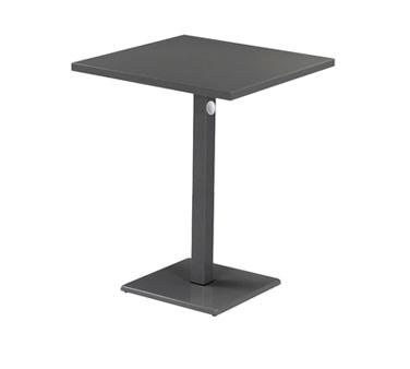 KH EMU Square Lock Bar Table X X In - Square pedestal pub table