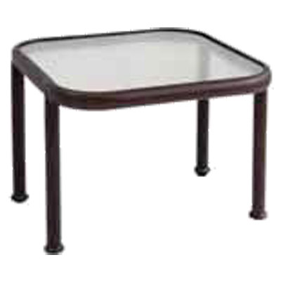 749 emu dock low table base square 21 1 2 x 21 1 2 x for 12 inch square table