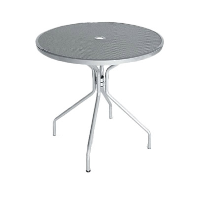 803 emu cambi table with umbrella hole round 32 dia x 29 1 2
