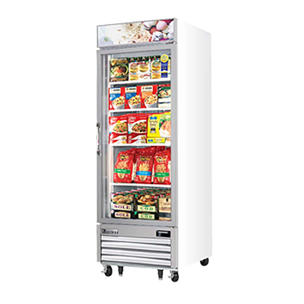 Everest Refrigeration Emgf23 Freezer Merchandiser 23 Cubic Feet