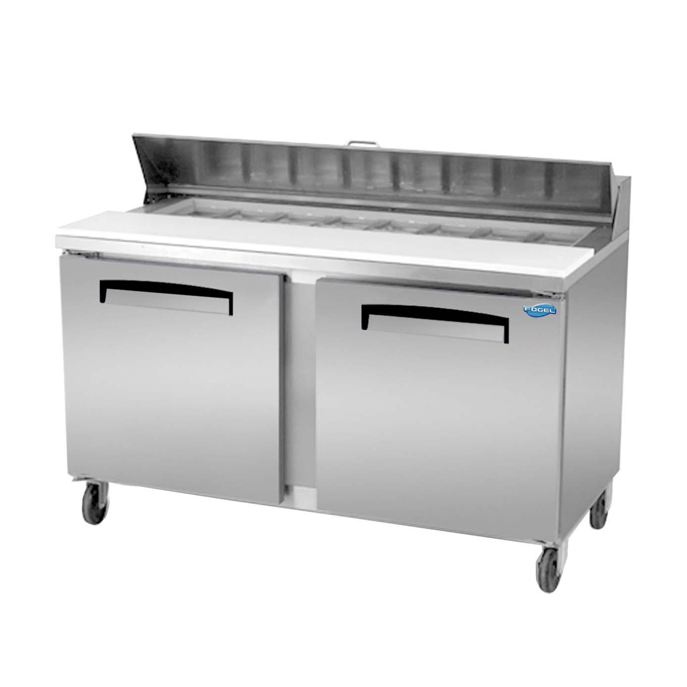 Fogel Refrigeration Flp 59 16 Sandwich Prep Table 15 7