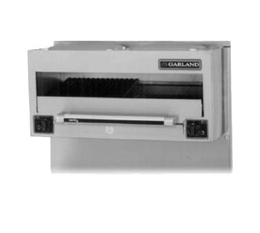 garland ser 686 salamander broiler electric restaurant range match 34 inch wide - Salamander Kitchen