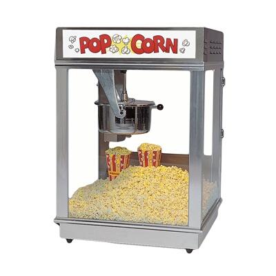 Gold Medal 2024ST - Popcorn Machine, 16 oz., Stainless ...