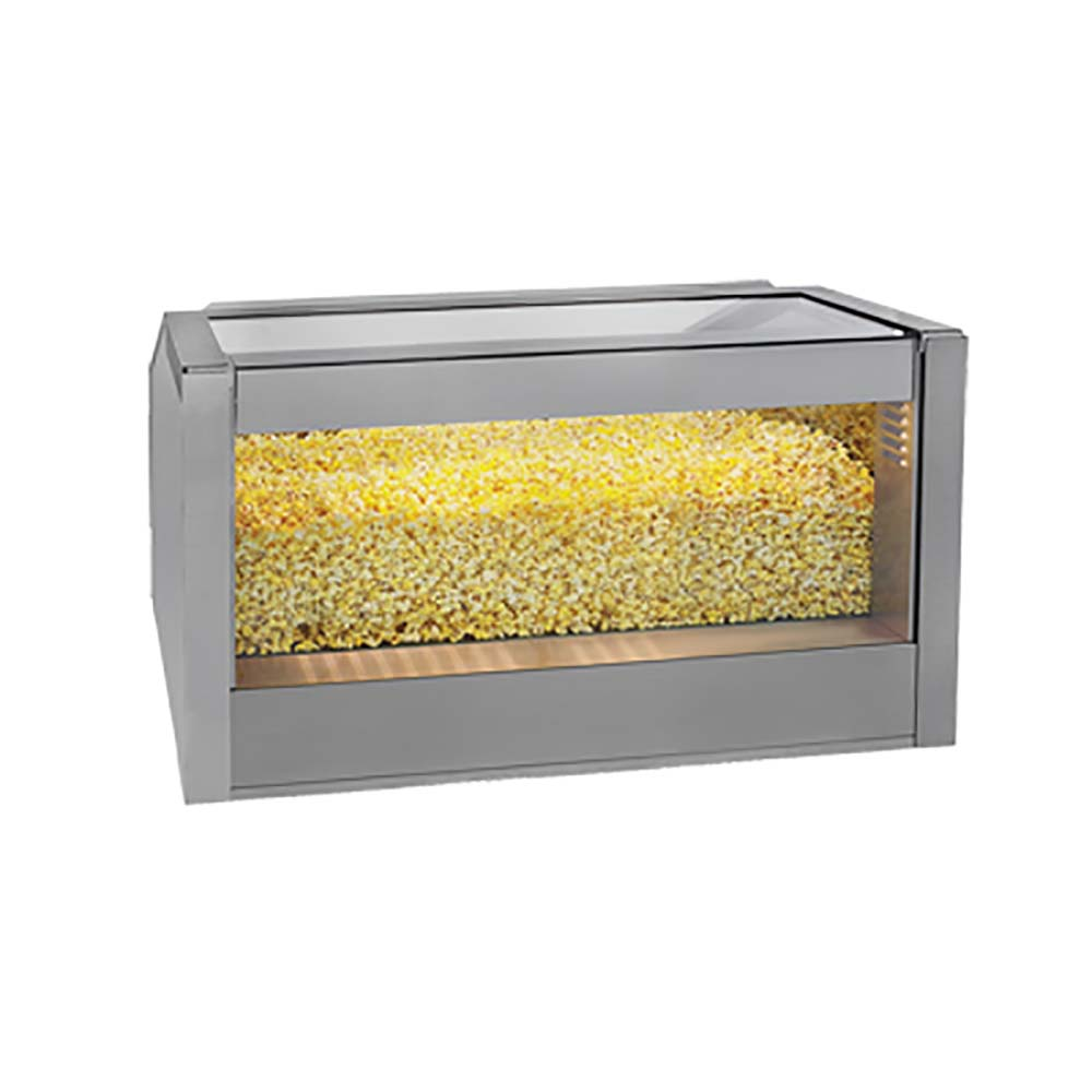 kitchen cabinet accesories gold medal 2344 popcorn warmer 36 quot drop in staging cabinet 2344