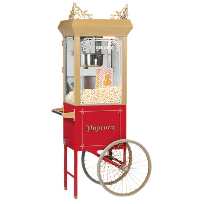 2660gt Gold Medal Antique Deluxe 60 Special Popcorn Machine
