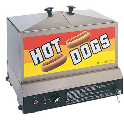 8007 gold medal steamin 39 demon hot dog machine. Black Bedroom Furniture Sets. Home Design Ideas