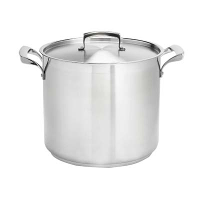 Browne 5724000 Stock Pot 100 Qt 19 1 2 Dia X Without Cover Stainless Steel