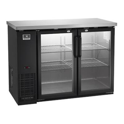 Kelvinator / Electrolux KCBB48GB - Back Bar Refrigerator Two Glass Doors  sc 1 st  JES Restaurant Equipment & Kelvinator KCBB48GB-HC Double Glass Door Painted Steel Back Bar ...