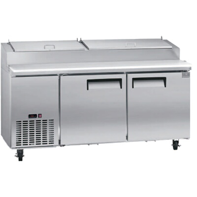 Kelvinator KCPTHC OneSection Refrigerated Stainless Steel - 6 foot stainless steel prep table