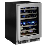 Marvel MP24WDG5RS - 24 Dual Zone Wine Refrigerator