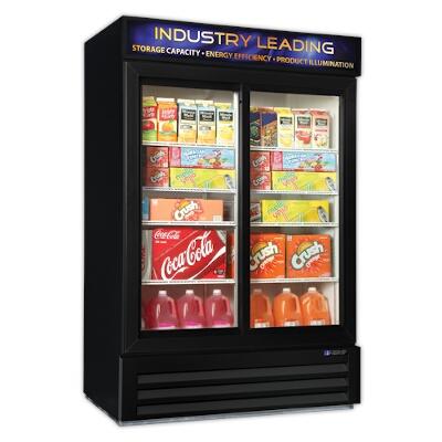 Master Bilt S Mbgrp48 Sl Glass Door Refrigerator Merchandiser