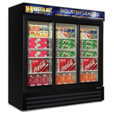 Master Bilt S Mbgrp74 Sl Glass Door Refrigerator Merchandiser