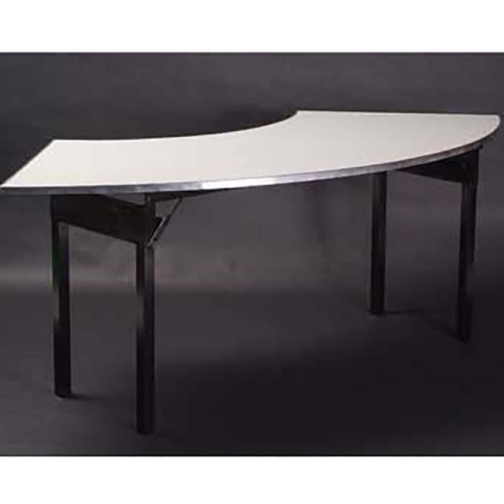 Maywood Dforig10830cr6 Folding Table Crescent White