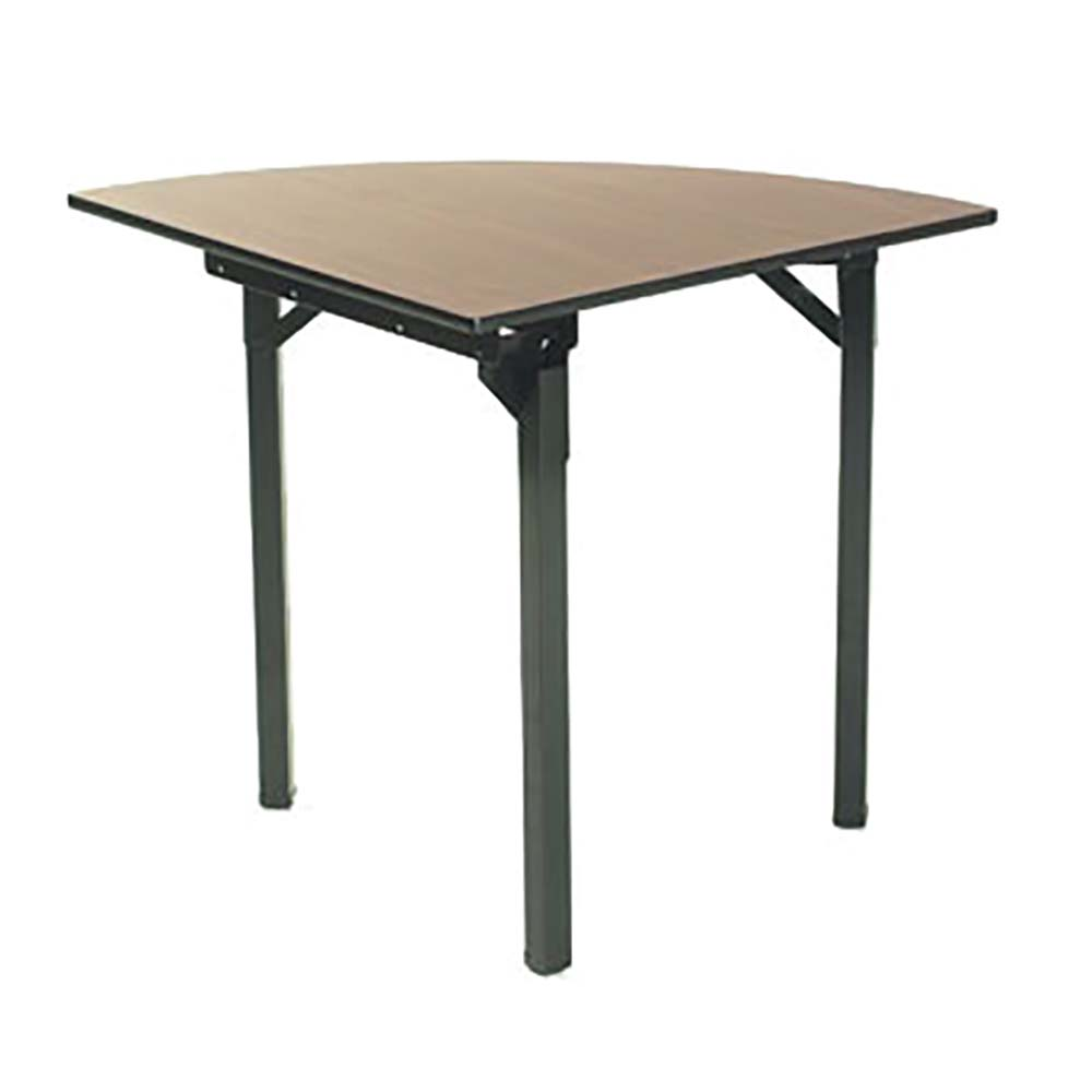 Quarter Round Folding Table
