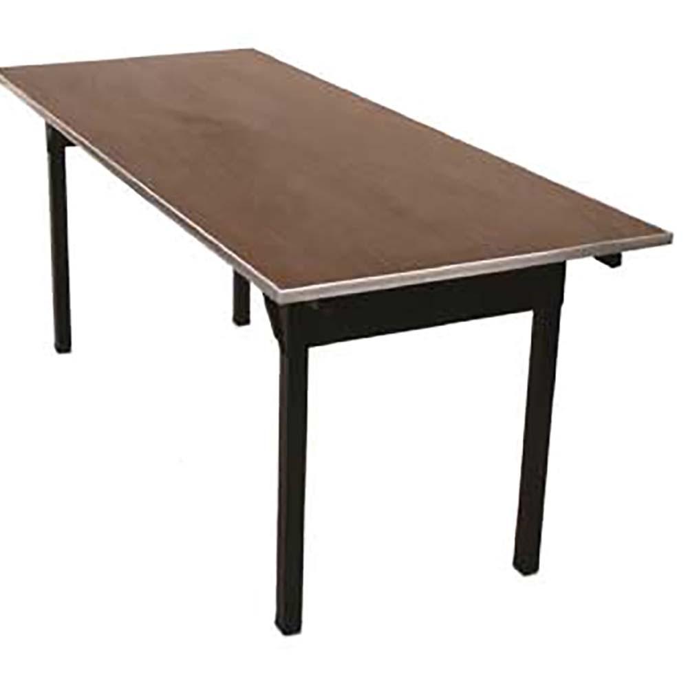 Maywood Dlorig1860 Folding Table Rectangular Laminated Top 60 X 18 30